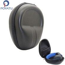 POYATU casque étui rigide pour Sony PlayStation Gold casque stéréo sans fil PS4 Gaming casque étui de transport boîte de rangement sac