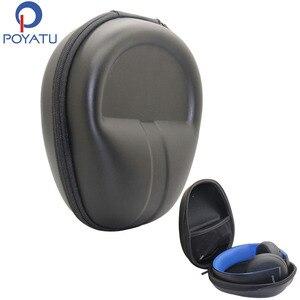 Image 1 - POYATU funda rígida para auriculares, para Sony PlayStation Gold, auriculares estéreo inalámbricos, funda de transporte de auriculares, estuche de almacenamiento
