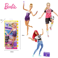 Original Barbie Brand Sport All Joints Move Set Barbie Girl Doll Toys Birthdays Girl Gifts For Kids Boneca toys for children