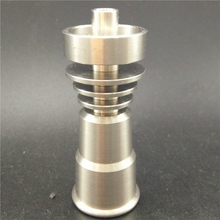 Newest Titanium Nail 14&18mm Female Joint Wholesale Enail Dab Wax Vape Domeless Smoking Nail Discount Price
