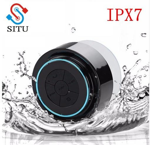 F012 мини подводный bluetooth Динамик Беспроводной Портативный Водонепроницаемый душ стерео динамики Handsfree всасывания микрофоном для iphone