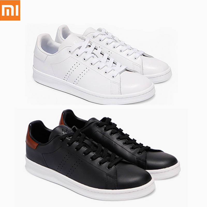 Original Xiaomi FreeTie Sneakers Leather Skateboard Shoes High Quality Comfortable Anti slip Fashion Leisure Shoes