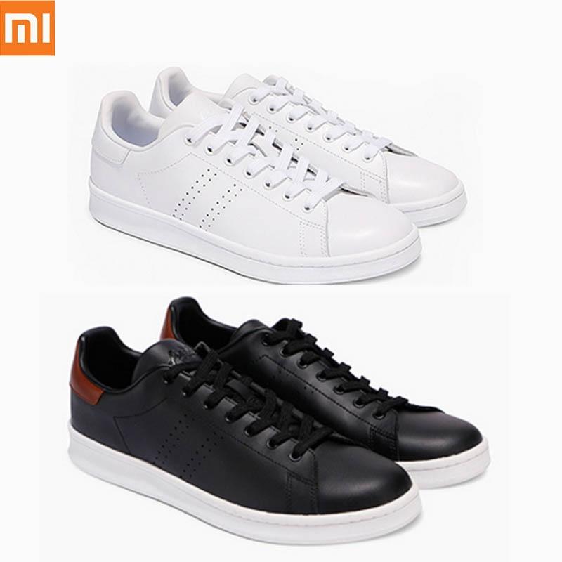 Originele Xiaomi FreeTie Sneakers Lederen Skateboard Schoenen Hoge Kwaliteit Comfortabele Anti slip Mode Vrije Tijd Schoenen-in slimme afstandsbediening van Consumentenelektronica op  Groep 1
