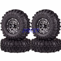 4P 1064 7035 Rock Crawler 1.9 Metal RC 1/10 Wheel Complete Super Swamper Rocks