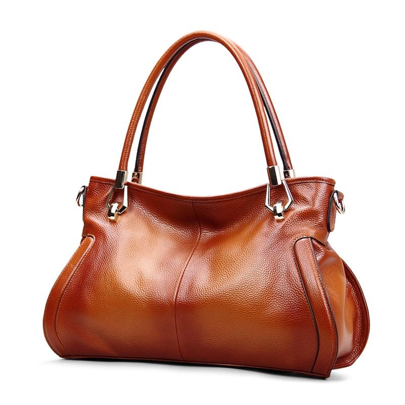 Bagaj ve Çantalar'ten Omuz Çantaları'de MESOUL Marka kadın Inek deri çantalar Kadın omuzdan askili çanta tasarımcı Lüks Bayan Tote Büyük Kapasiteli Fermuarlı Çanta Kadınlar için'da  Grup 2