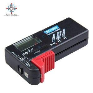 Image 2 - BT 168 LED Universal Digital LCD Battery Checker Volt Tester Cell AA AAA C D 9V 1.5V Button