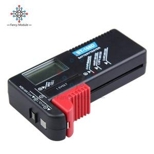 Image 2 - Comprobador de batería LCD Digital Universal, BT 168 LED, comprobador de voltios, celda AA AAA C D 9V 1,5 V, botón