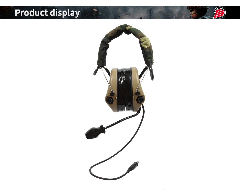 TAC-SKY headphones reduction hunting 1