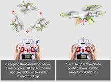 Quadrocopter SYMA X5HW Zangão RC Com Câmera Wifi FPV HD Real-time 2.4G 4CH RC Helicopter Quadcopter RC Dron Brinquedo (X5SW Upgrade)