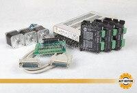 Great Kit ACT 3Axis Nema17 Stepper Motor 17HS5413 5200g Cm 4 Lead 1 3A Bipolar Driver