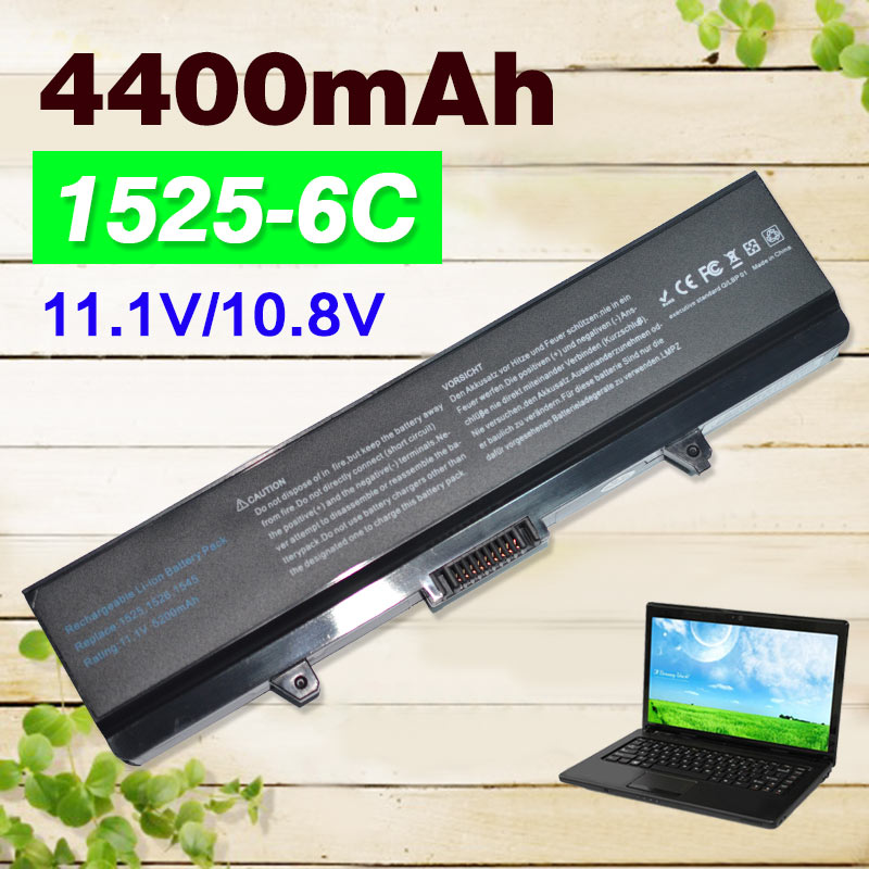 122462f9b1d3 Genuine 0RN873 0F972N 0CR693 laptop battery for dell Inspiron 1525 ...