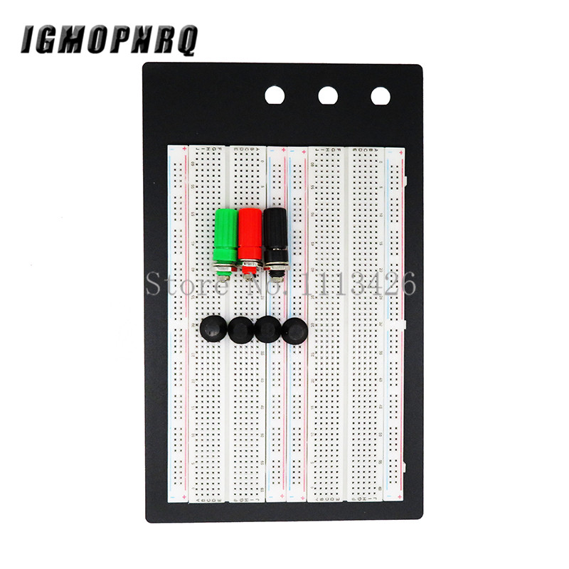 SYB-1660 Solderless Breadboard Protoboard 4 Bus Test Circuit Board Tie-point 1660 ZY-204