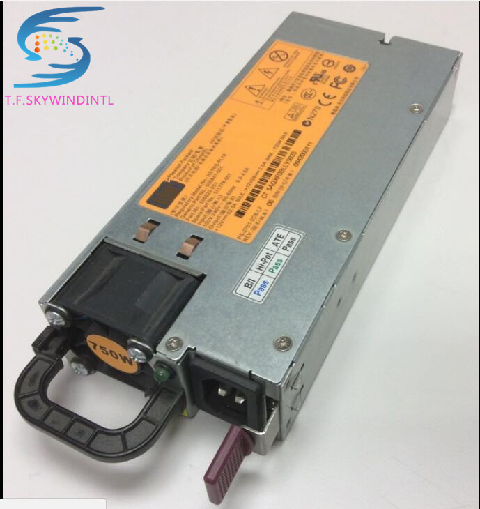 free ship by spsr 750W POWER SUPPLY 506822 101 DL380 ML 370 G6 DPS 750RB 511778