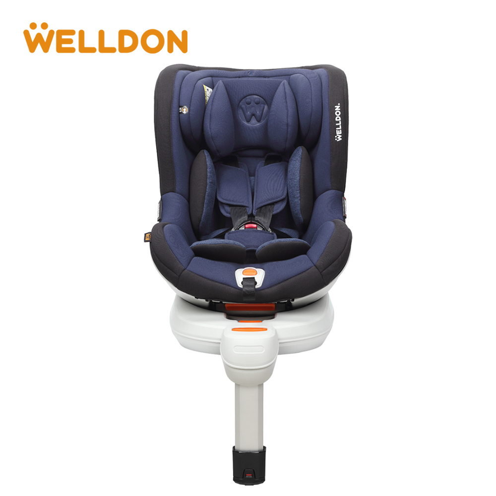 Welldon Chair Body Adjust Car Seat Group 0/1 (0-18kg) Iosfix Interface High Back Child Safety Seat 0-3 Years