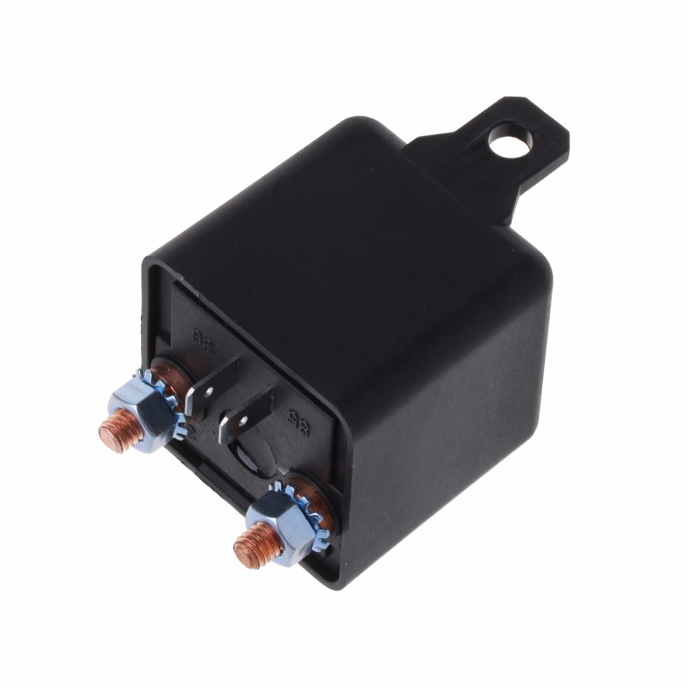12V 200Amp 4Pin Start Relay Heavy Duty ON//OFF Switch Split Charge Relay For Car