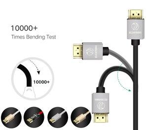 Image 3 - ANNNWZZD Cáp HDMI 2.0 4K 1080P Kết NỐI HDMI TO HDMI 5 M 1m Dây Cáp HDMI 10m adapter 3D cho TIVI LCD Laptop PS3 máy chiếu máy tính