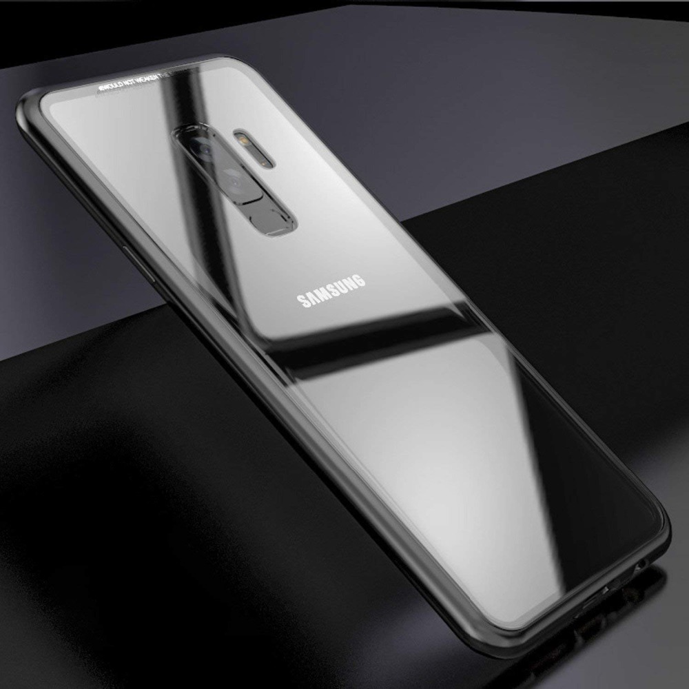 Image 5 - Suntaiho Magnetic Adsorption Case For Samsung S8 S9 Plus Note 8 S7 Edge Tempered Glass Cover For iPhone X 7 8 Huawei P20 Oneplus-in Fitted Cases from Cellphones & Telecommunications