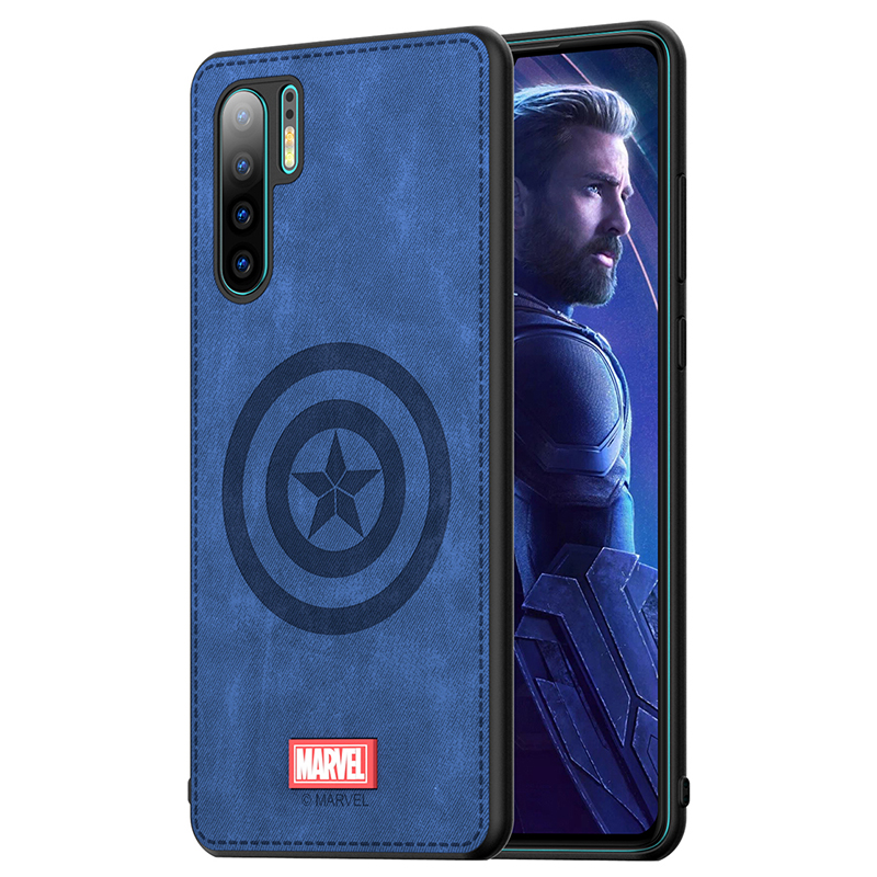 Original <font><b>Phone</b></font> <font><b>case</b></font> For Huawei P30 P30 Pro Captain America <font><b>Marvel</b></font> Thor High Quality Fabric Cloth Shockproof Back Cover Coque image