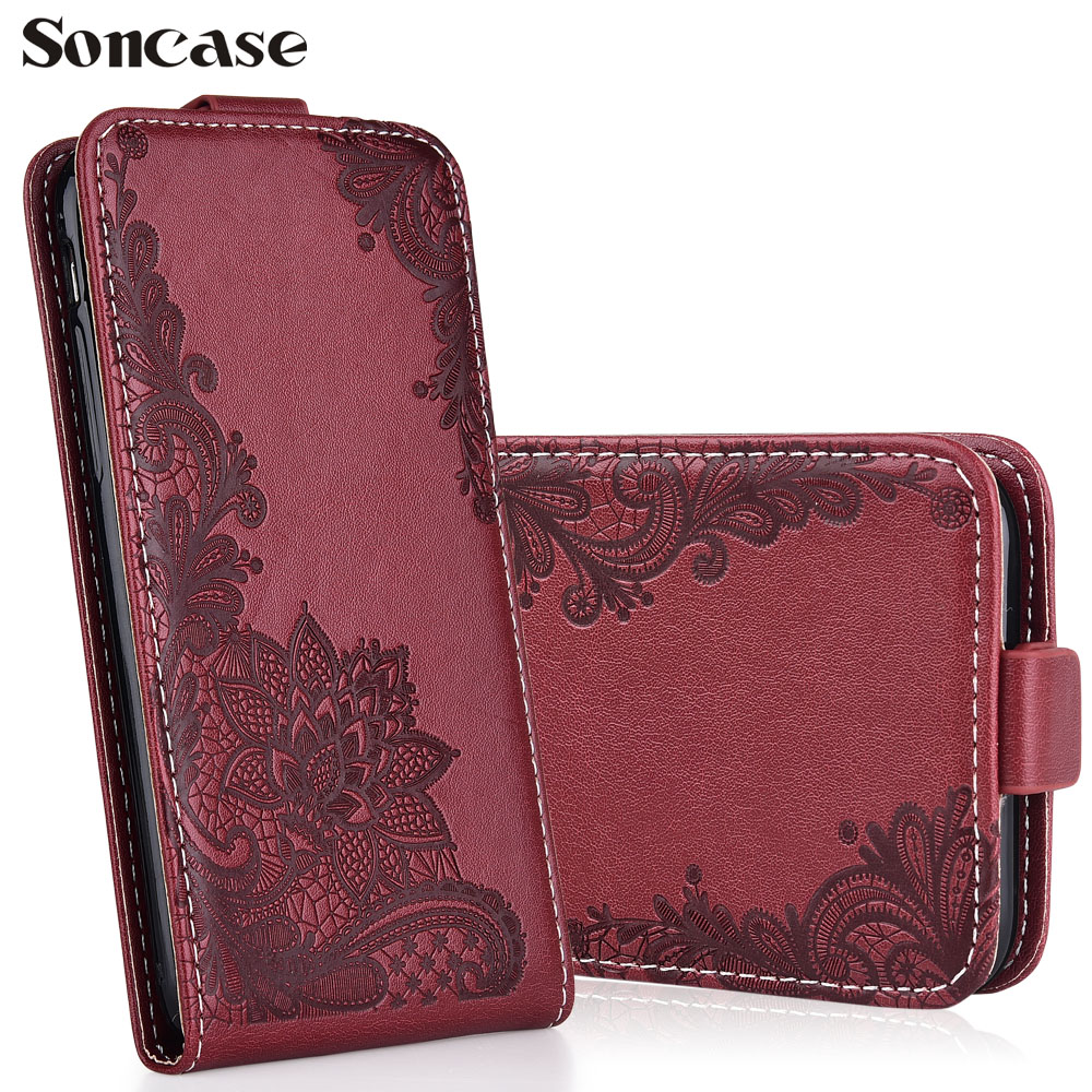 Fashion Cartoon Pattern Flip Leather Case For Lenovo a6010 Plus & a6000 a 6000 <font><b>6010</b></font> Embossed flip phone cover case image