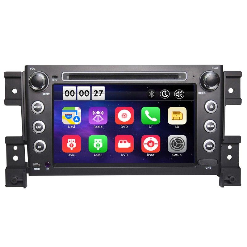Two Din 7 Inch Car DVD Player For SUZUKI grand vitara 2005 With 3G Host GPS