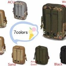 Военная маленькая сумка Molle тактический пояс сумка Камуфляж Бег поясная сумка