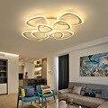 Креативные современные акриловые светодиодные потолочные светильники для гостиной  спальни  комнаты для учебы  потолочные светильники для...