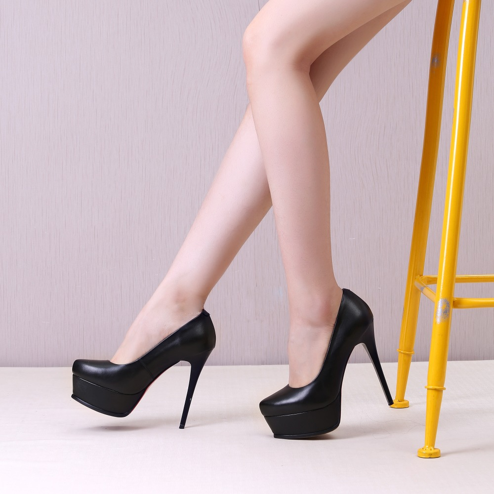Aliexpress.com : Buy 2017 Women pumps 13 cm Super high heels ...