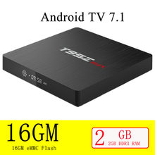 T95Z Max Smart TV Box Android 7.1 S912 Octa-corecortex-A 3G RAM 32G ROM 4K HDR H265 WIFI Bluetooth 4.0 Media Player(China)