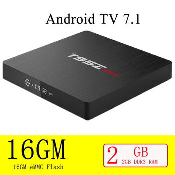 T95Z Max Smart TV Box Android 7.1 S912 Octa-corecortex-A 3G RAM 32G ROM 4K HDR H265  WIFI Bluetooth 4.0 Media Player