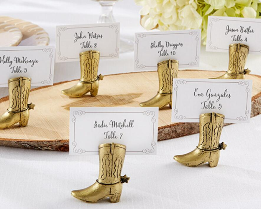 12pcs gold shoes name number menu table place card holder clip wedding baby shower party reception favorin party favors from home u0026 garden on