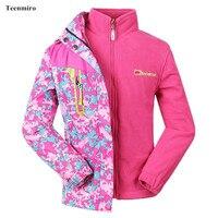 2pcs Girls Jacket Autumn Children S Windbreakers Zipper Camo Long Hooded Camo Coat Kids Rain Jacket