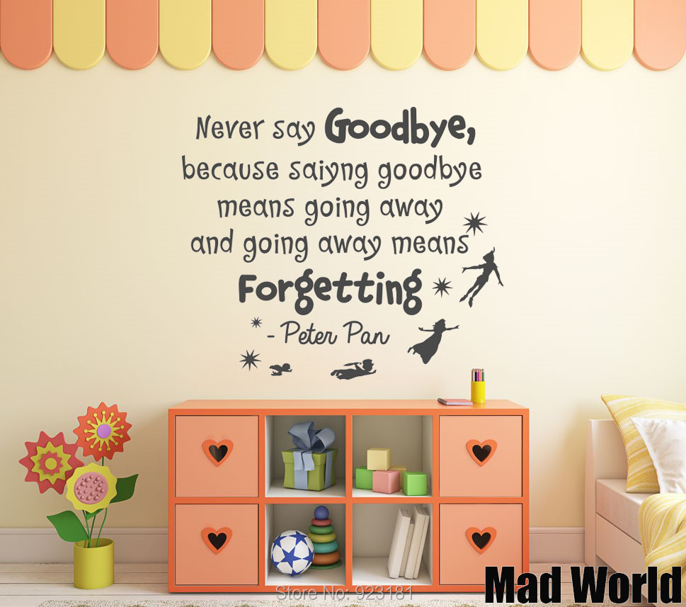 Peter pan quote wall stickers image collections home wall peter pan quote wall stickers image collections home wall peter pan quote wall stickers images home amipublicfo Gallery