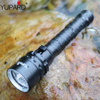 Yupard 3 * XM-L2 светодиодный T6 желтый светильник L2 светодиодный Водонепроницаемый вспышка светильник Подводный фонарь для дайвинга лампа для пл...