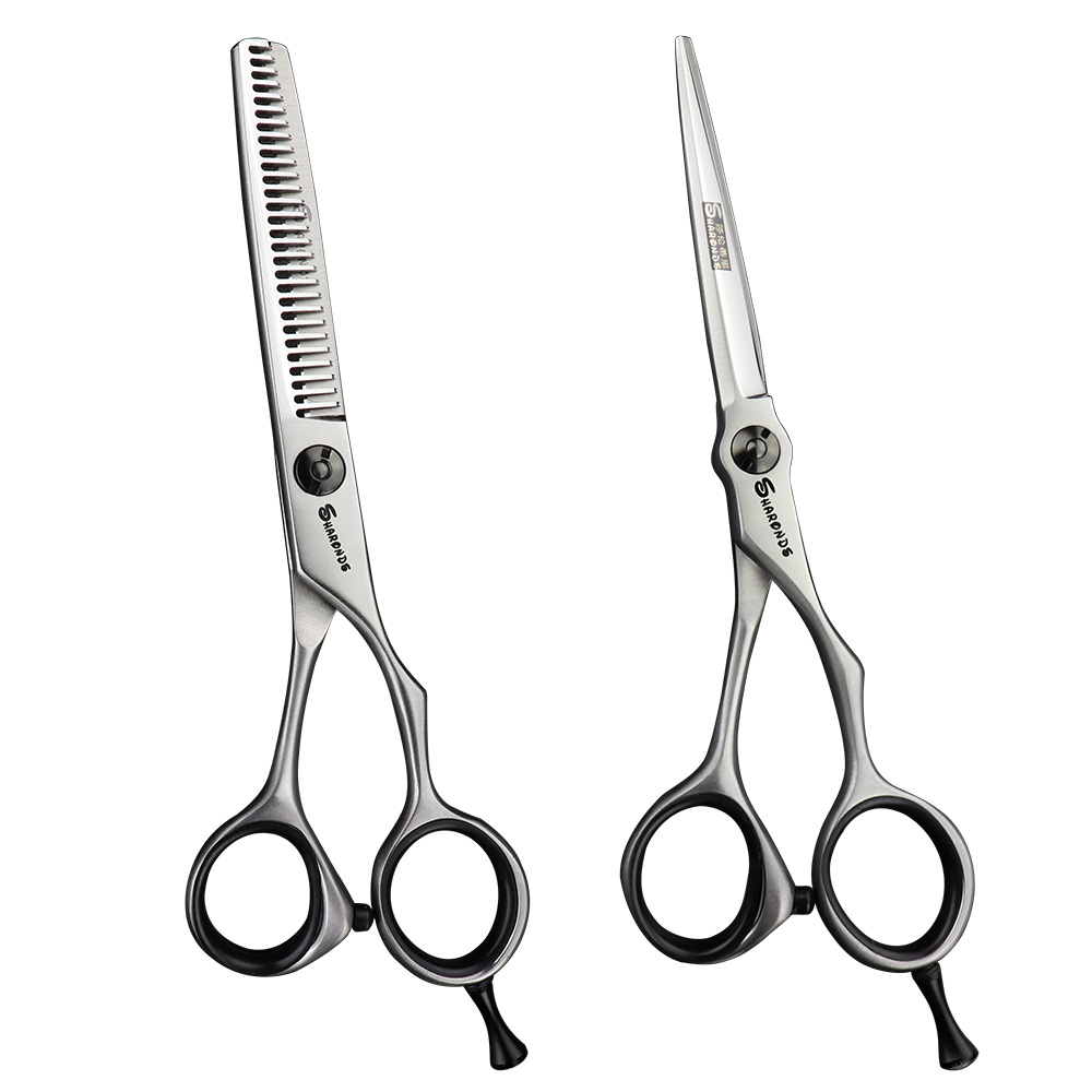 Professional Barber Hair Scissors Kit Japan 440C Hair Salon Scissors 5.5 Inch 6 Inch Haircut Cutting Shears Thinning Cliper
