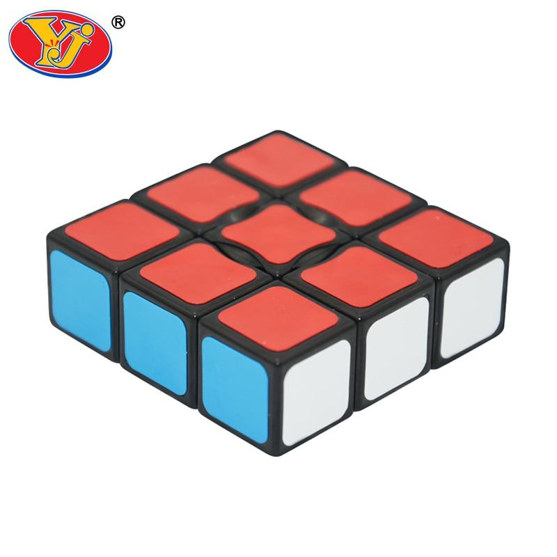 Новый yongjun yj 1x3x3 cube черный/белый magic cube скорость извилистые развивающие игрушки для детей yj133