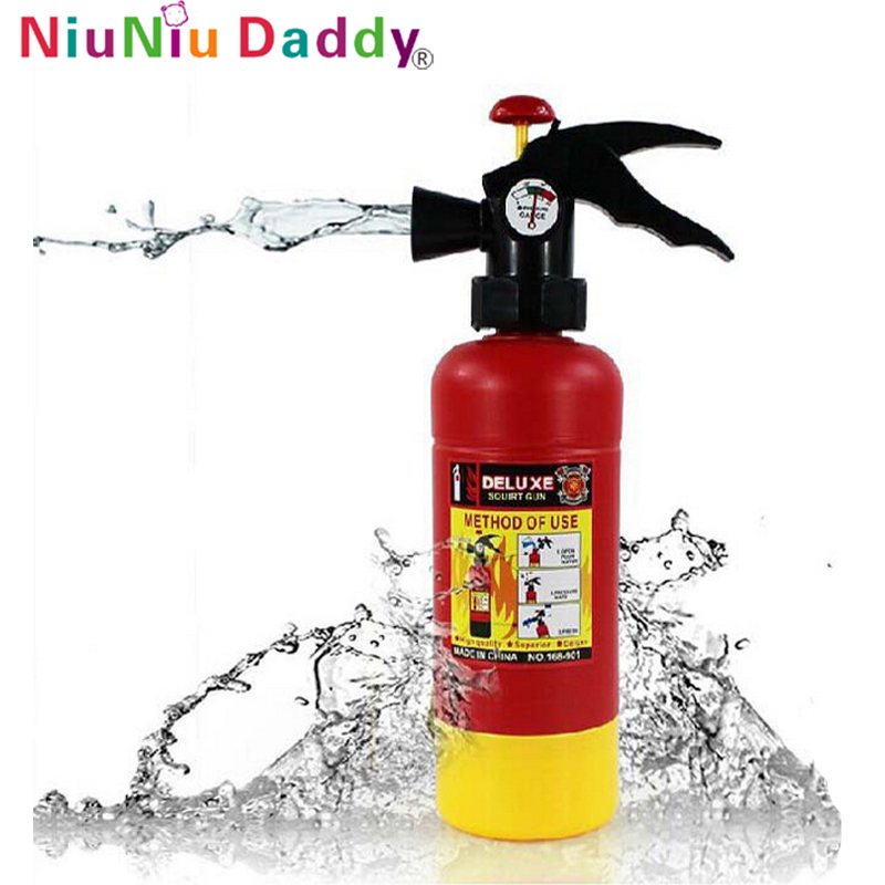 Niuniu Daddy Toy Water Gun Fire Extinguisher Inflator Water Gun Swimming Beach Toys Firefighter Simulation Toy For Kid Children