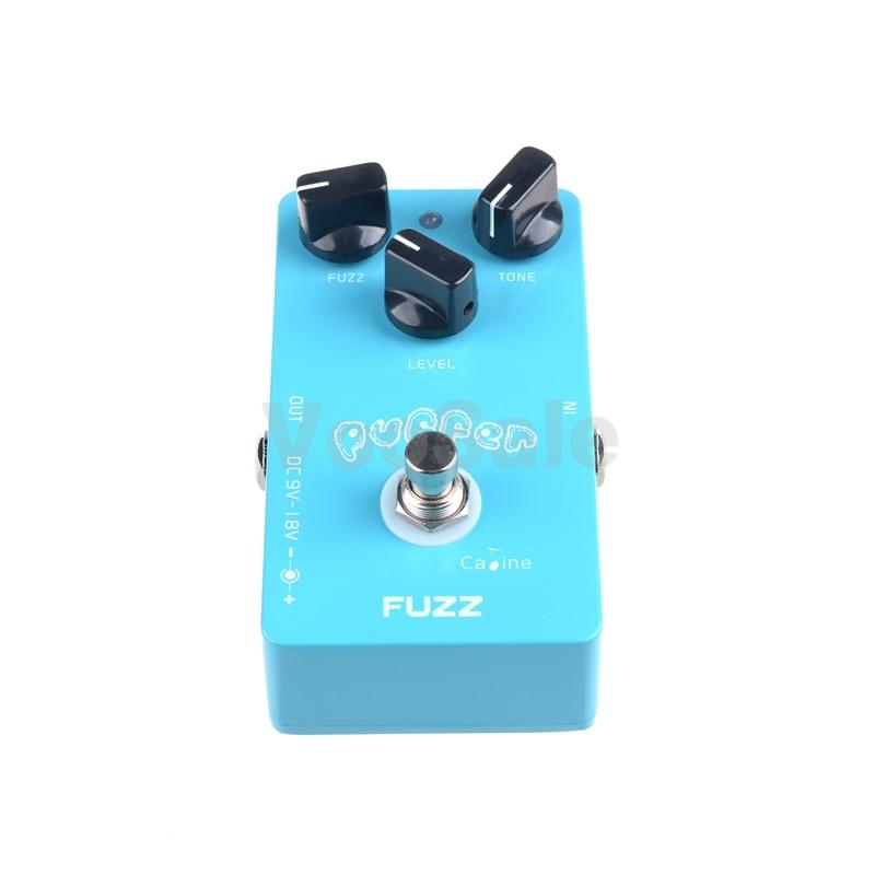 Caline CP-11 Puffer FUZZ Guitar Effect Pedal Mini CP11 Guitar Pedals - Երաժշտական գործիքներ - Լուսանկար 2