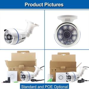 Image 5 - Smar1.0MP/2MP Bullet Camera HD 720P 1080P Outdoor Waterproof 48V POE IP Camera Night Vision CCTV Camera Security System ONVIF