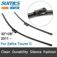 Щетки стеклоочистителей для Opel Zafira Tourer C (с 2012 года) 32 «+ 28» R подходит кнопка типа стеклоочистителей оружия только HY-011