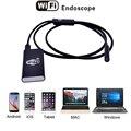 HD 2MP 1080 P Endoscópio WIFI App Controle Remoto 2 m