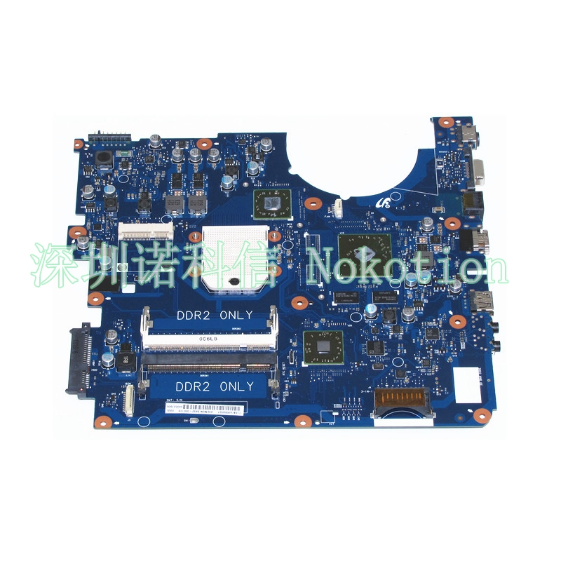 NOKOTION Laptop motherboard for Samsung R525 NP-R525 Mainboard BA92-06013B BA92-06013A Free CPU