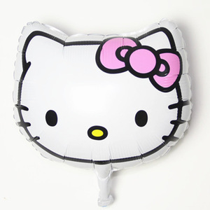 1PC Hello Kitty Bear Unicorn Mickey Minnie Mouse Happy Birthday Wedding Balloons Birthday Party Decorations Kids Princess Favors(China)