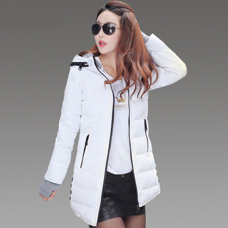 ФОТО Refeeldeer Thick Warm Winter Jacket Women 2017 Hooded Parkas Women's Winter Jacket Coat Female Cotton Jacket Ladies Quilted Coat