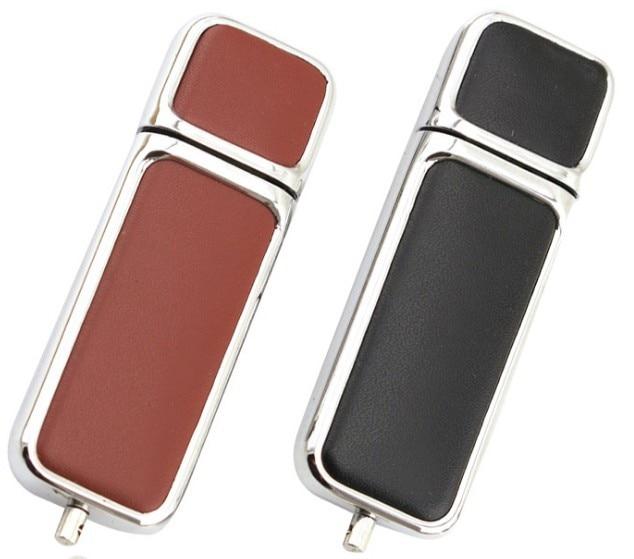 Hot Pen Drive Capacity Keychain Leather USB 2.0 Flash Drive 4GB 8GB 16GB 32GB 64GB 128GB Pendrive Memory Stick U Disk Thumb Gift