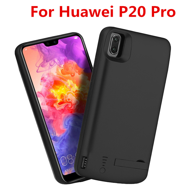lowest price e91b0 ac324 US $30.02 |6500 Mah For Huawei P20 Pro Battery Case Smart Backup Smart  Battery Case Cover Power Case For Huawei P20 Pro Battery case-in Battery ...