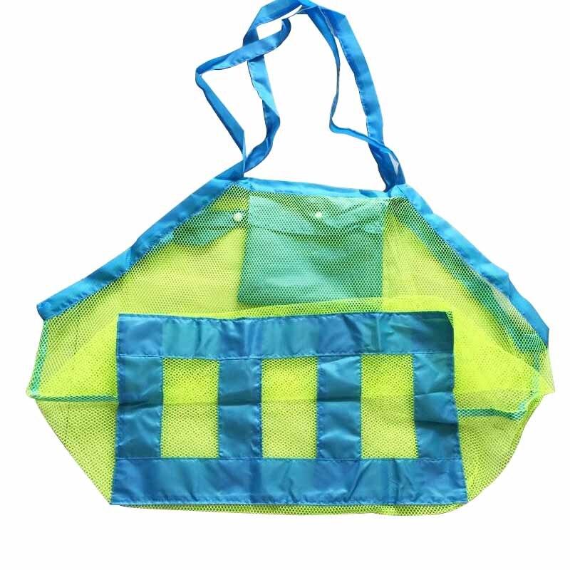 Творческий складной детский пляж сетки сумка Детские игрушки Организатор сумка грязную одежду контейнер карман Детская комната висит Орга...