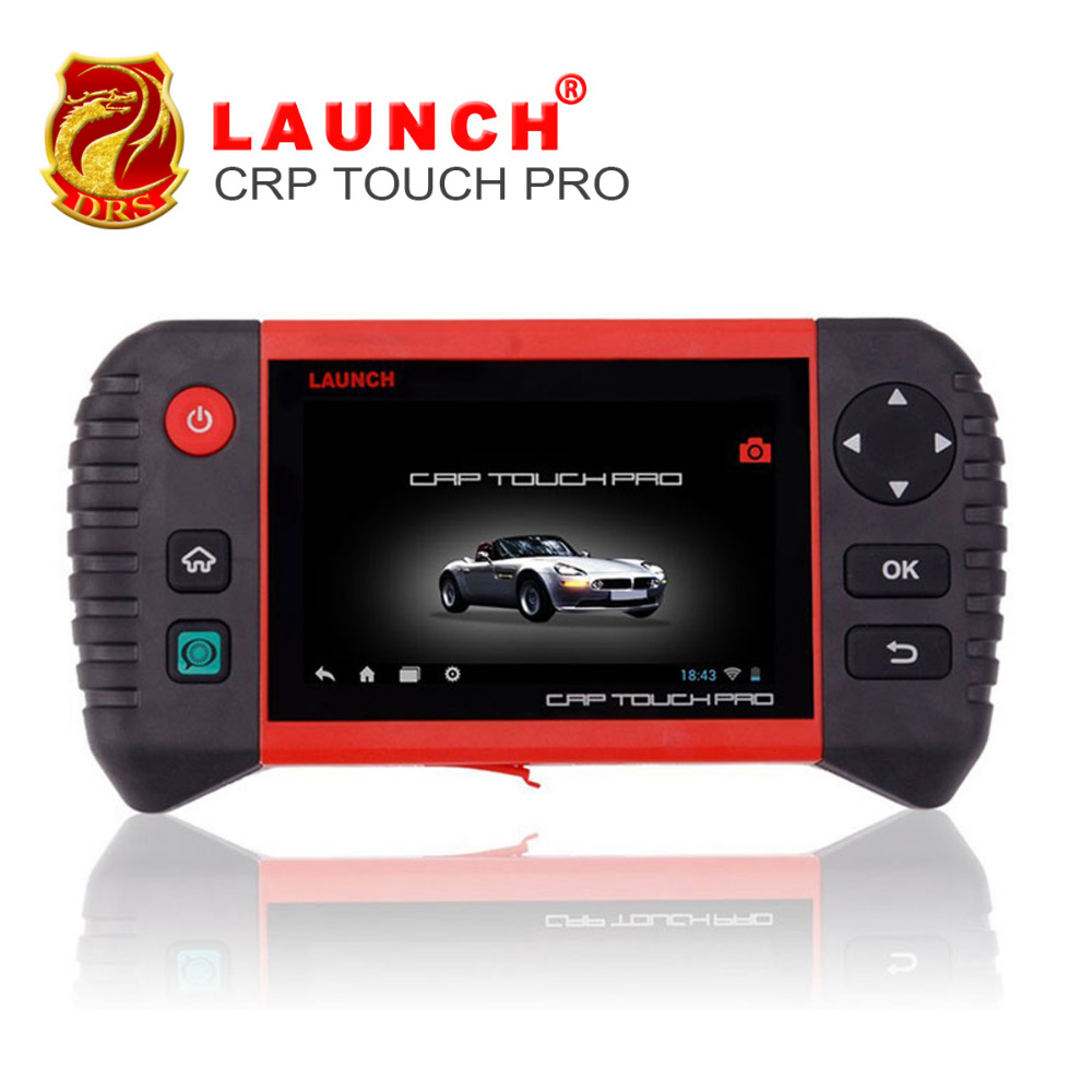 2018 Customized Launch Creader CRP Touch Pro Full System WiFi Diagnostic Tool EPB/DPF/Oil Light/Battery Management Registration все цены
