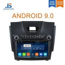 JDASTON 2 DIN 8 дюймов Android 9,0 Автомобильный DVD плеер для Chevrolet Holden S10 TRAILBLAZER Колорадо isuzu DMAX Встроенная Автомобильная gps радио