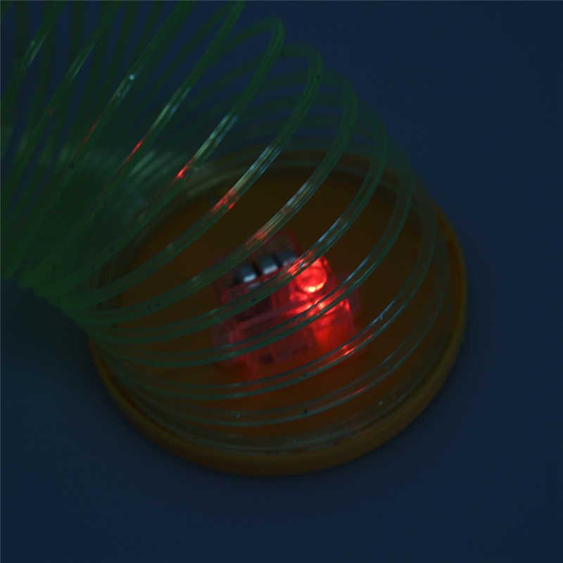 Magico Arcobaleno Cerchio Pieghevole Primavera Giocattoli Glow In Dark Classico Regalo Creativo