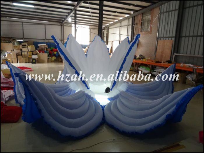 Düğün Dekorasyon için LED Işık ile Mavi Şişme - Mobilya - Fotoğraf 2